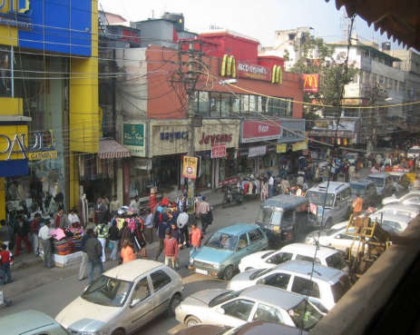 ae6243ae877 Some traders associations of Karol Bagh claimed traffic congestion in the  area due to excessive parking