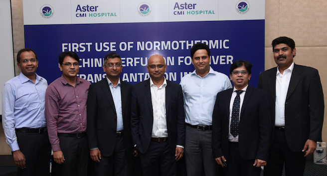 Aster CMI, Bangalore, first in Asia to introduce OrganOx to