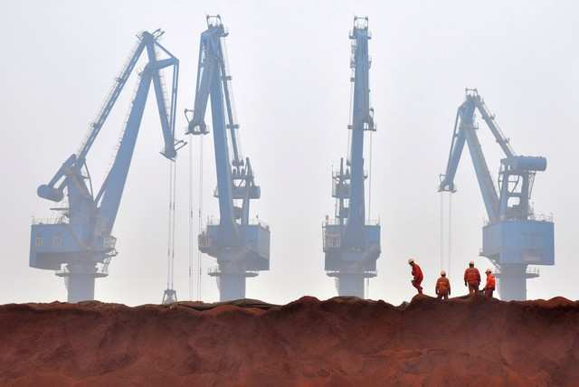 9a8de3e332c Dalian iron ore rallies on strong Chinese steel margins