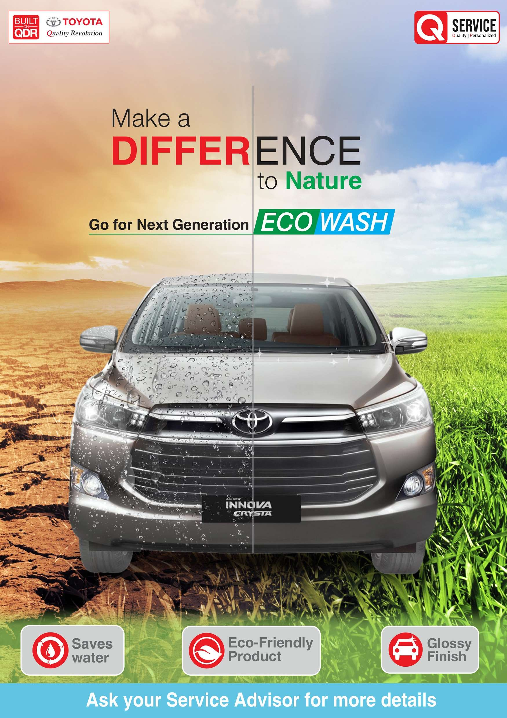 Wonderful Toyota Offers U0027ECO Car Washu0027 Service To Customers