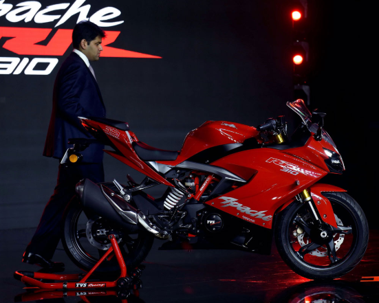 The company currently sells Apache RTR (race throttle response), Apache 160 cc and the RR 310 cc in the premium segment apart from other models.