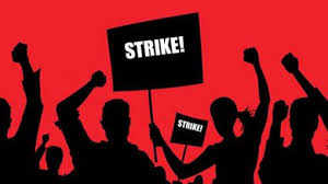 Image result for on strike