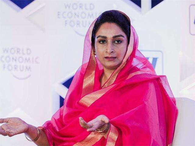 FDI in food processing touches $1-billion mark this year: Harsimrat Kaur Badal