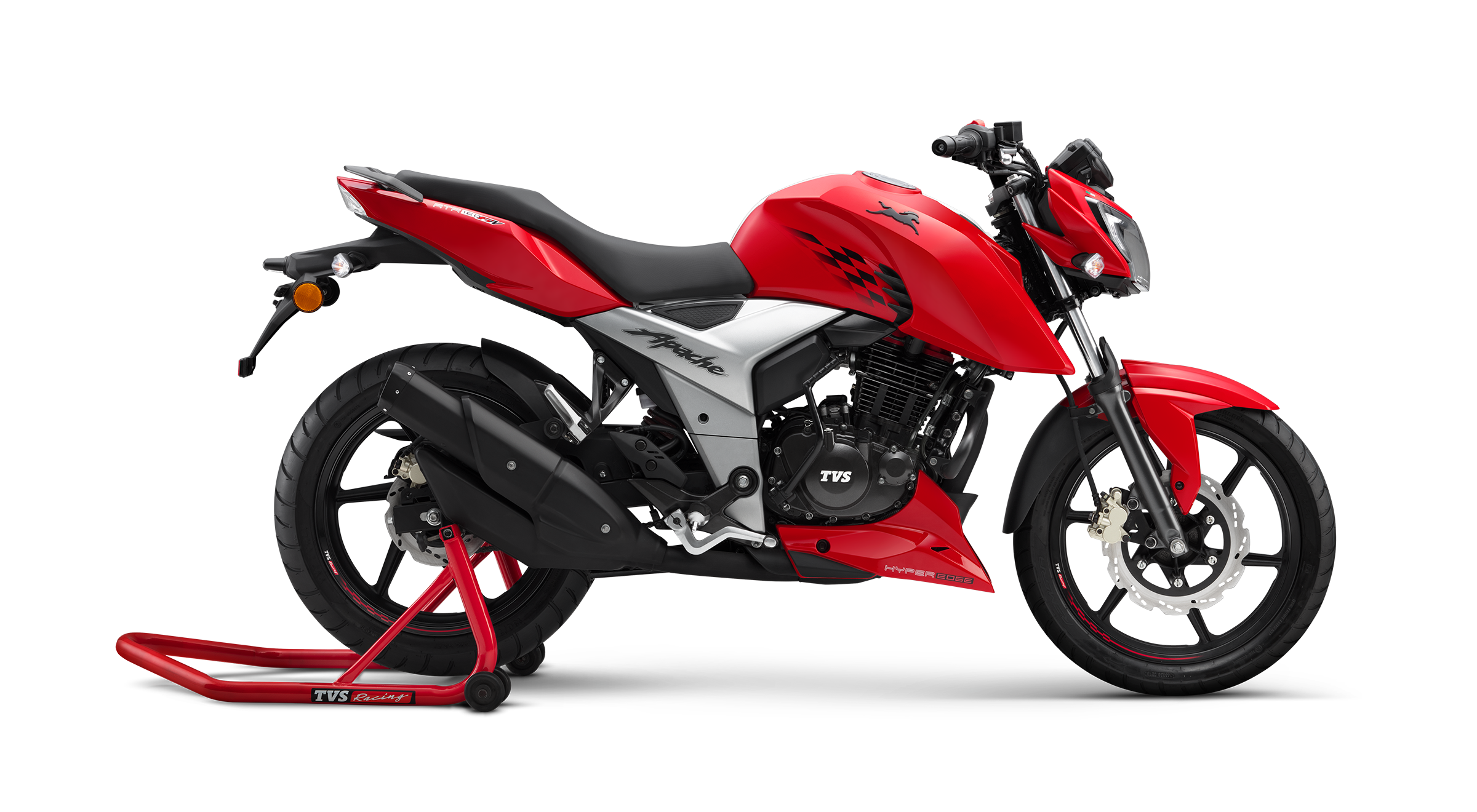 The launch of the TVS Apache RTR 160 4V in Sri Lanka helps build company's promising product portfolio.