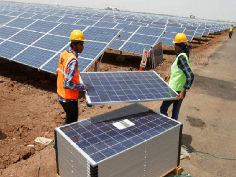 Solar projects: We expect to take up a solar power project in