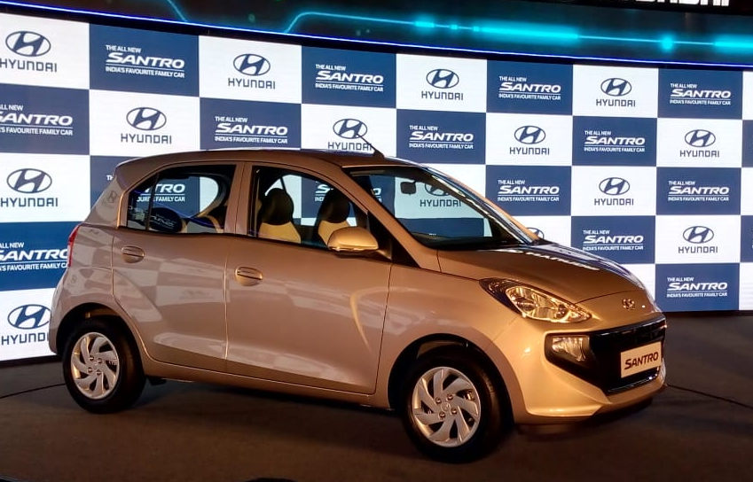 Santro Price And Specs Hyundai Santro Launched At A Starting Price