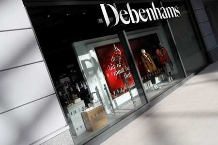 a791732501 UK s Debenhams to close 50 stores as posts biggest loss in its 240-year  history