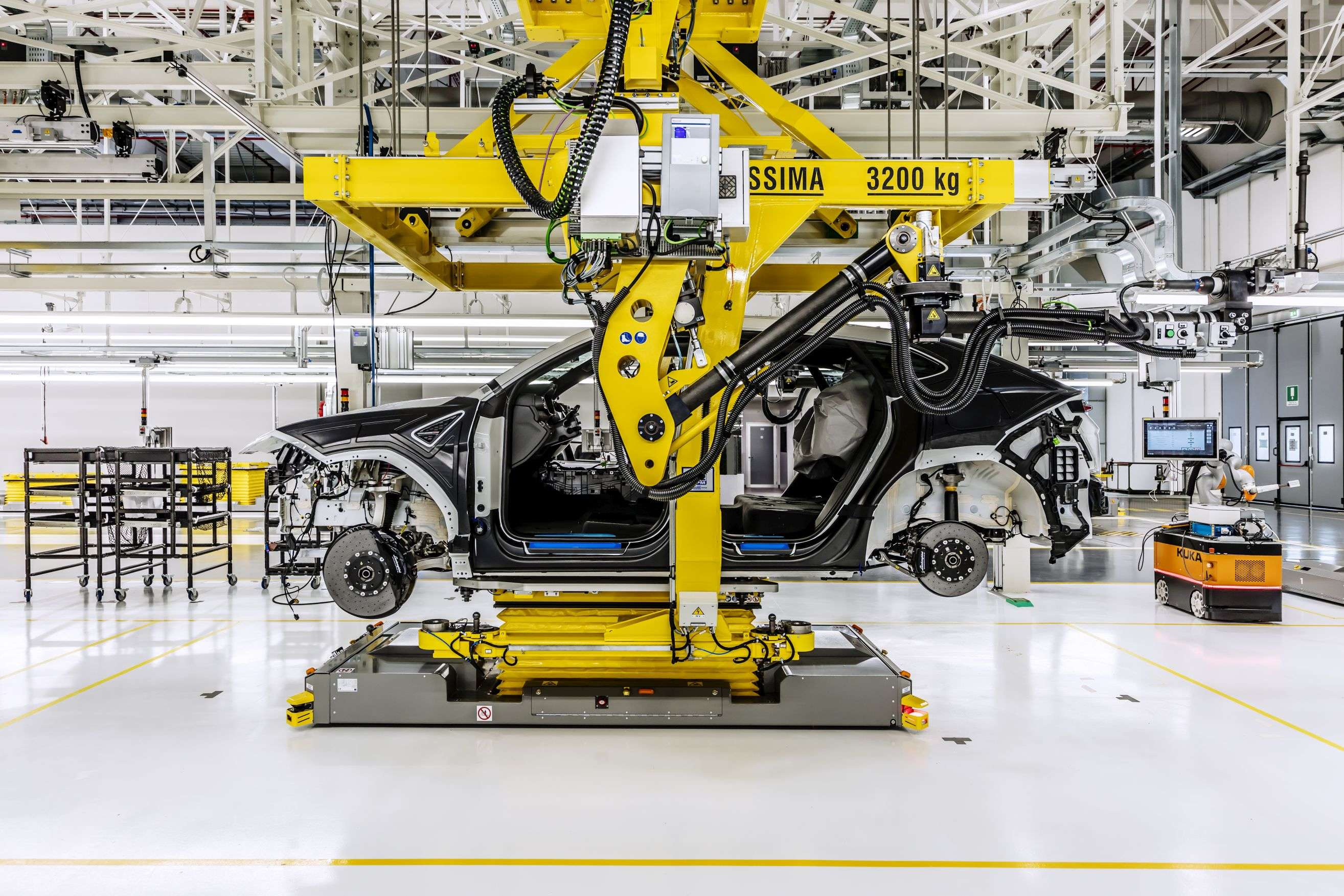 vehicle assembly: Durr designs flexible assembly layout for