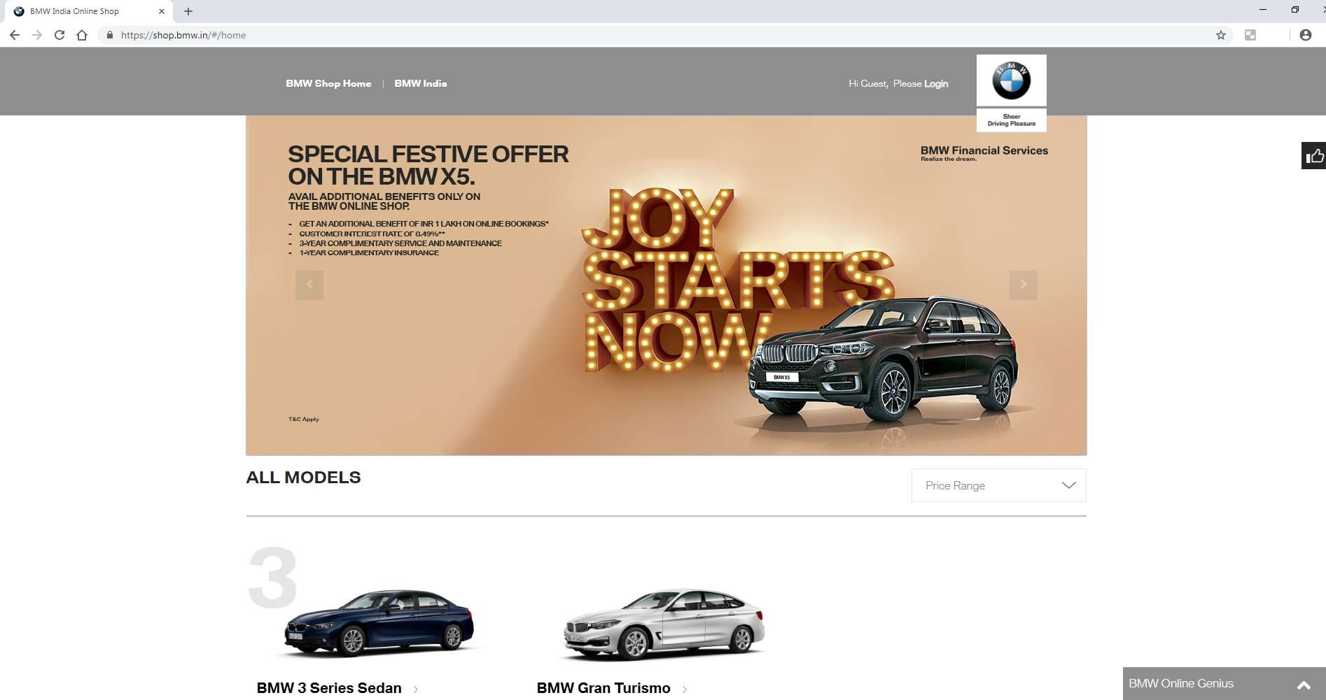 bmw india: bmw launches online sales in india, auto news, et auto
