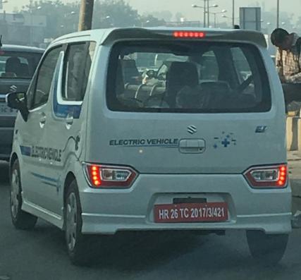 Electric Wagaon R Maruti Suzuki Electric Wagon R Caught Testing On