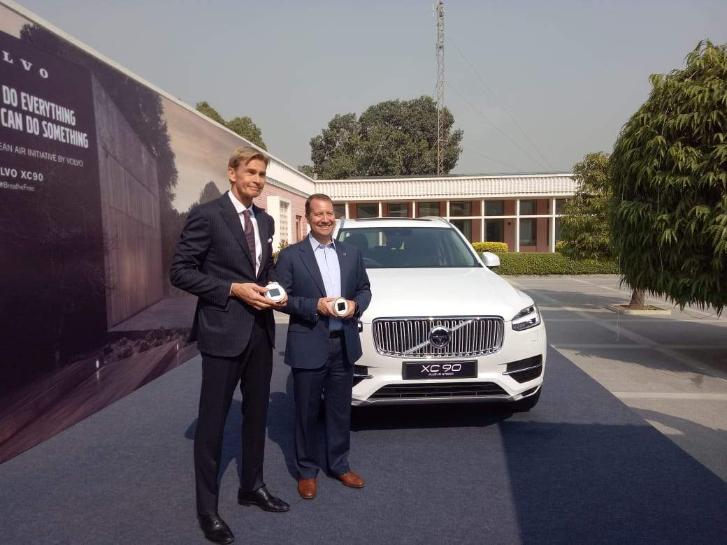 volvo: volvo cars to be the first company to assemble plug-in