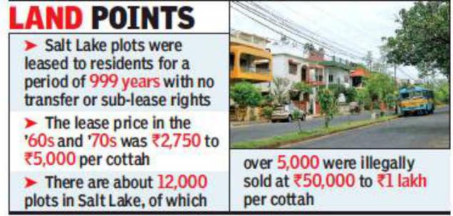 Kolkata: New Salt Lake land transfer law on way