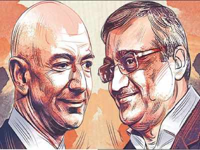 Amazon may buy out Kishore Biyani's Future Group in new business deal