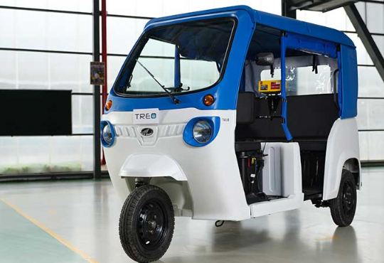Is three-wheeler fastest to catch electrification drive