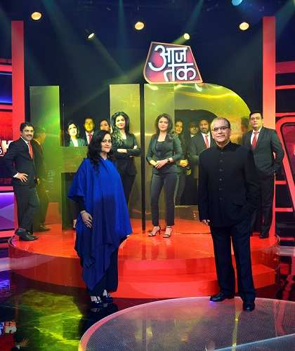 India Today Group launches Hindi HD news channel-Aaj Tak HD