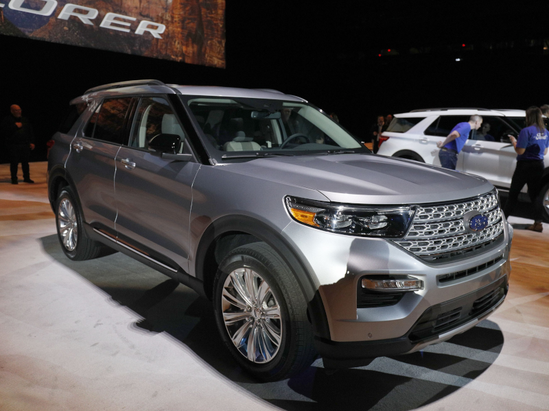 ford revamps explorer suv for 1st time since 2011 model year, auto