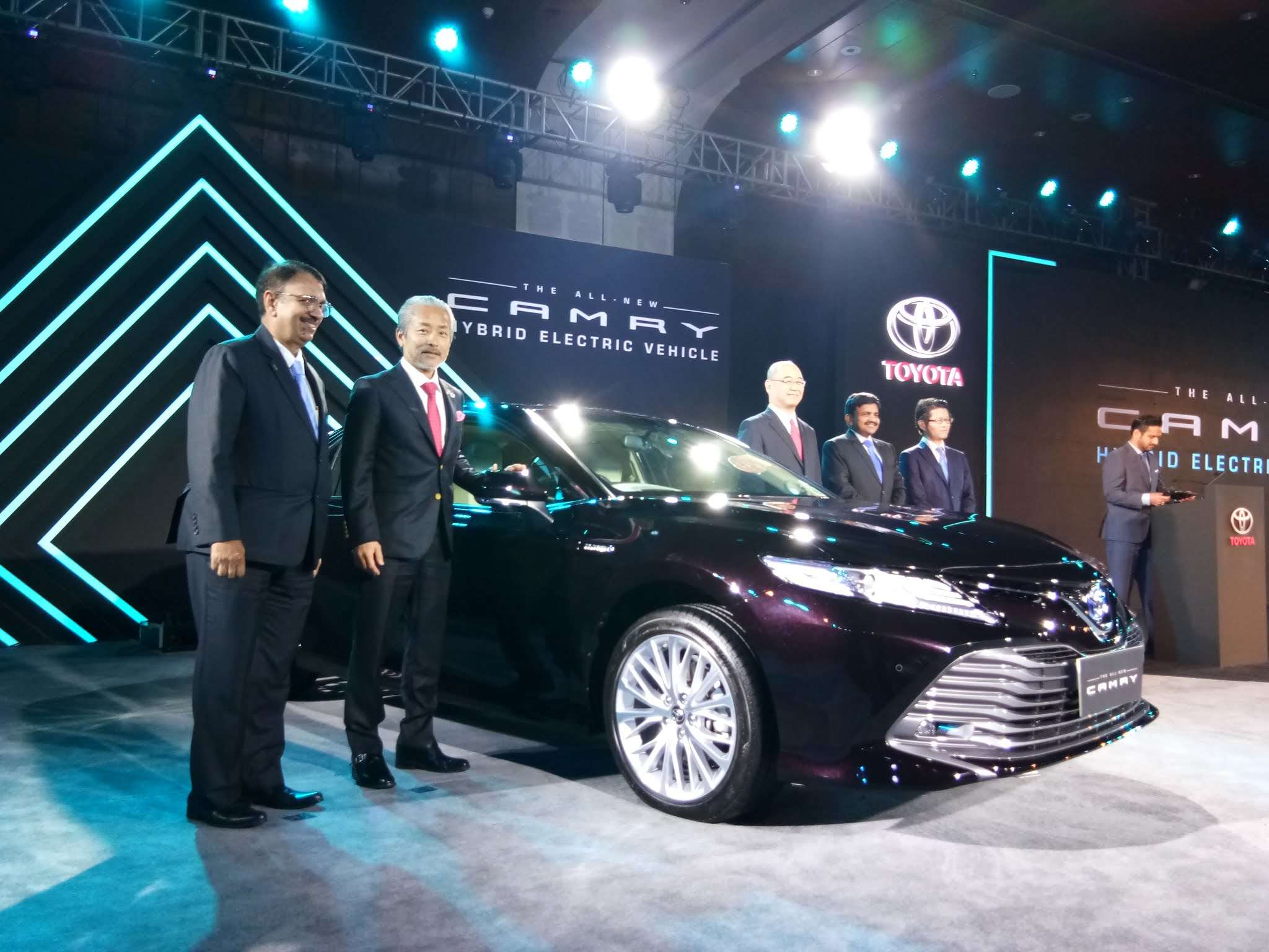 toyota camry: india breaks into top 10 markets for toyota motor