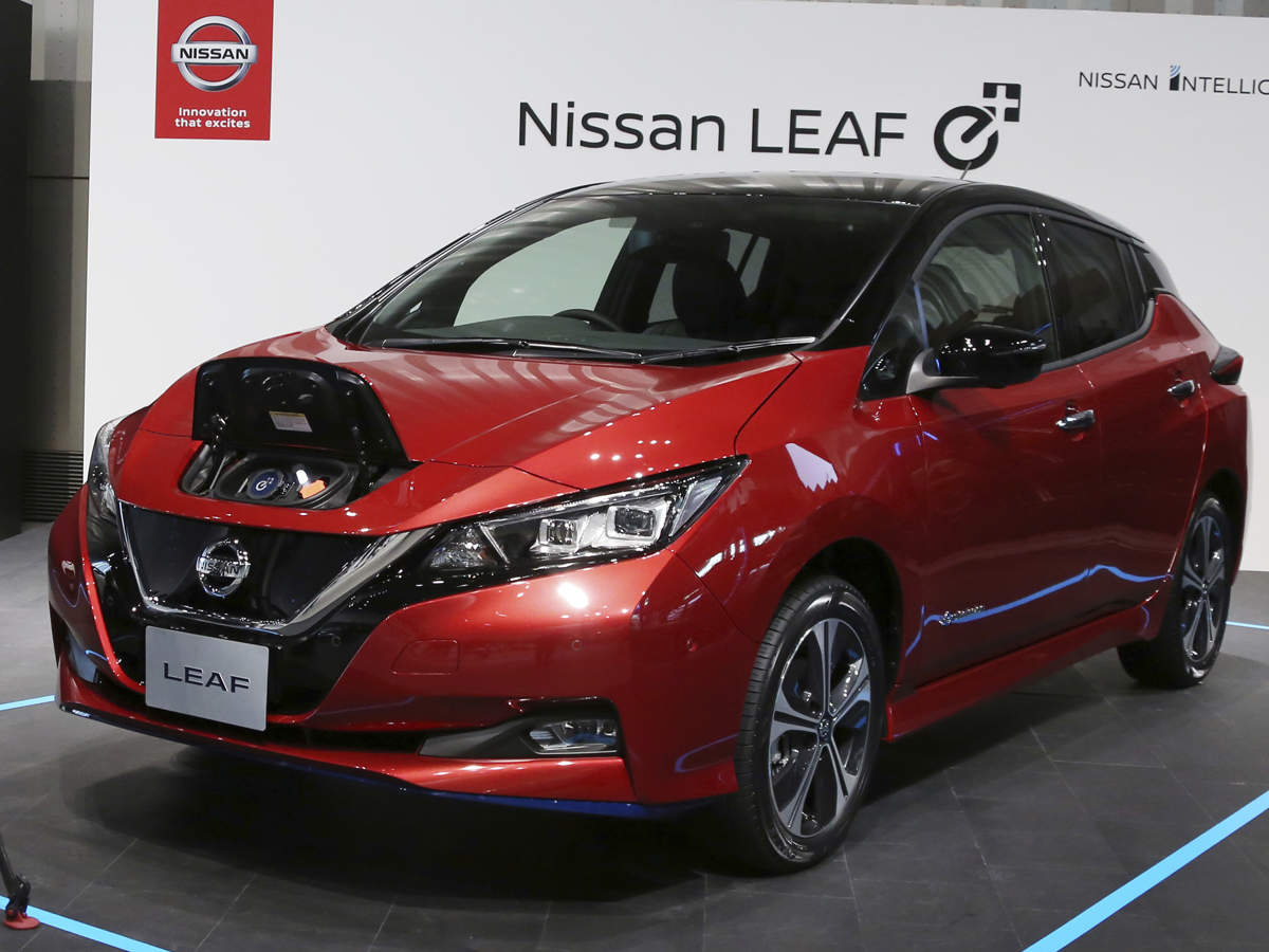 Nissan Leaf Ev Nissan Leaf Ev To Arrive In India This Year With E