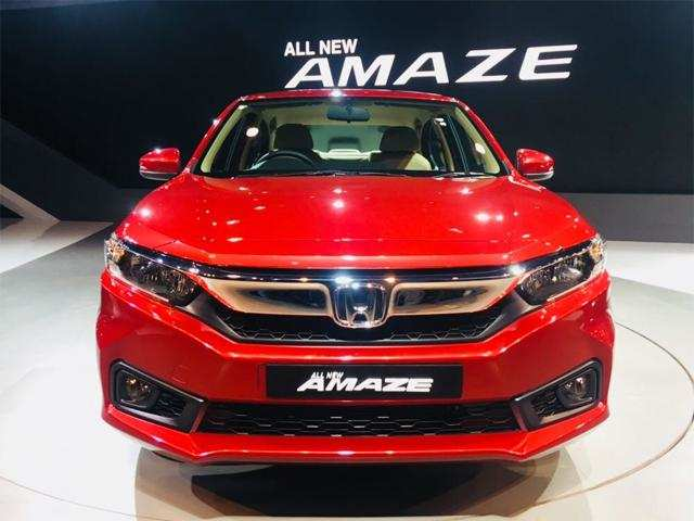 Honda Amaze Honda Cars India Beats Tata Motors As Fourth Largest Pv Seller In Jan 2019 Auto News Et Auto