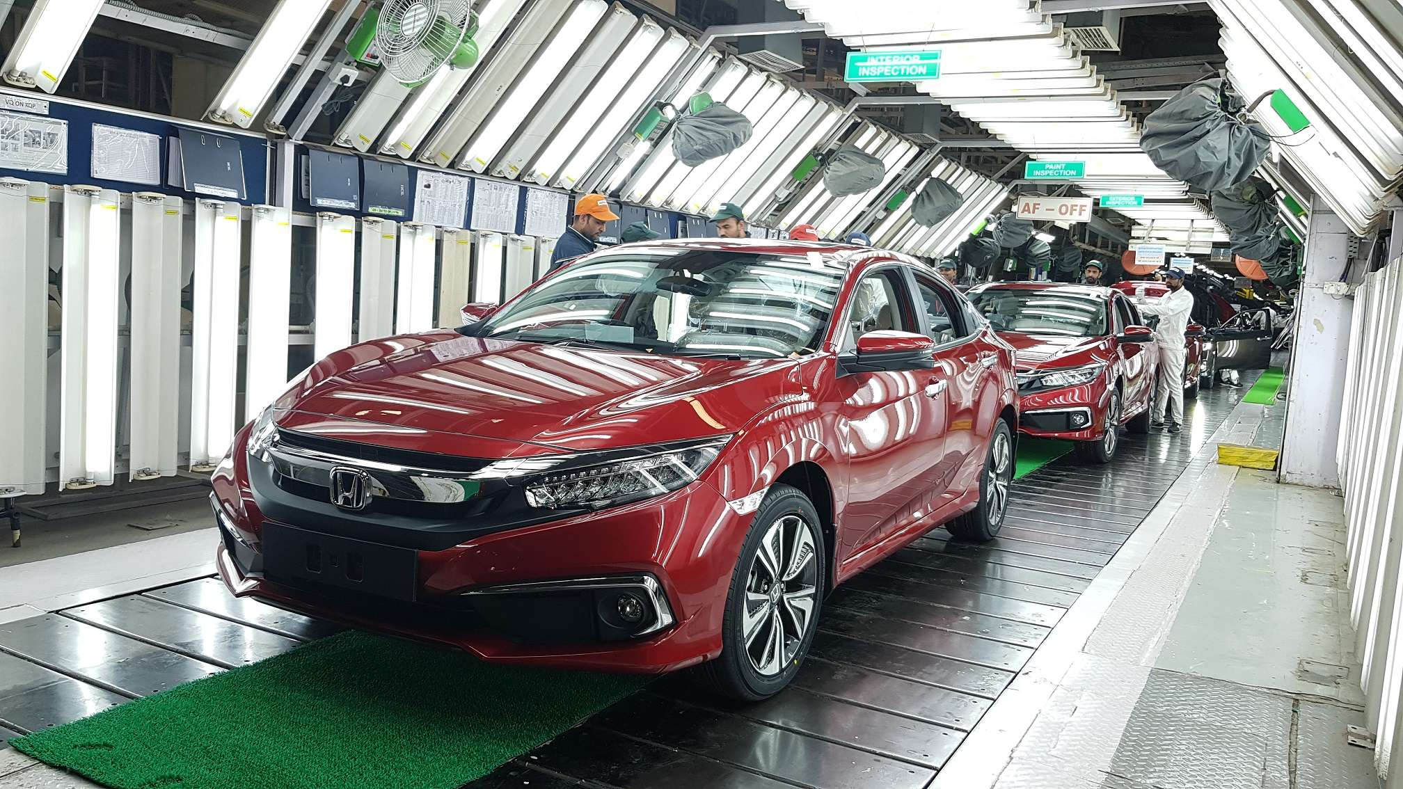 honda cars starts production of new civic in india, auto news, et auto