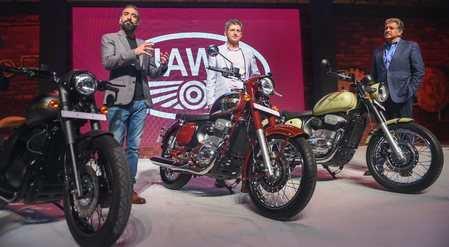 Jawa vrooms into Nagpur, company aims to revive old bikes