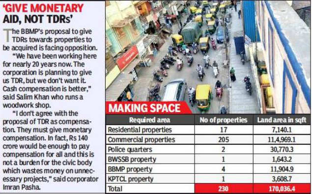 Over 230 commercial properties to be razed for road widening in Bengaluru
