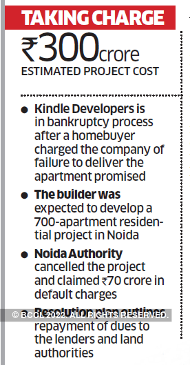 Home buyers want to take over debt-laden property developers