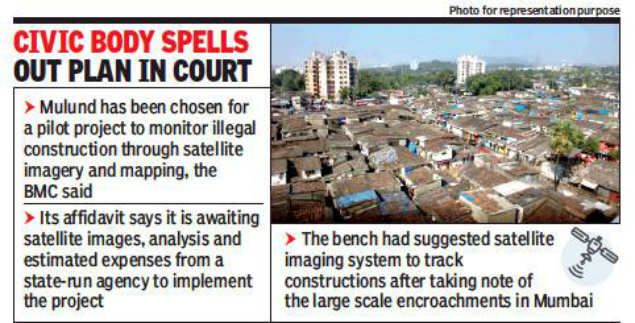 Satellite images to track illegal buildings in Mumbai's Mulund