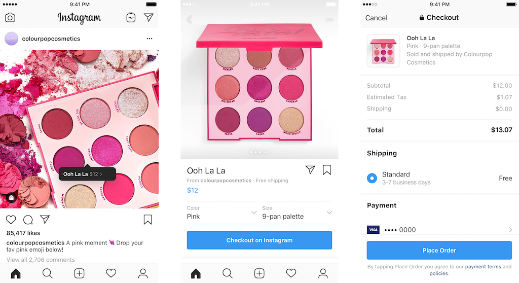 Instagram adds in-app shopping feature for US users