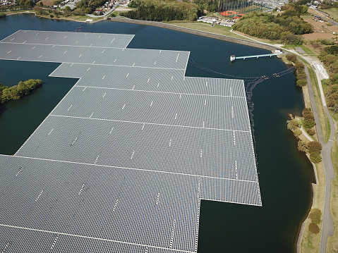 Image result for NTPC floating solar power project in Gujarat