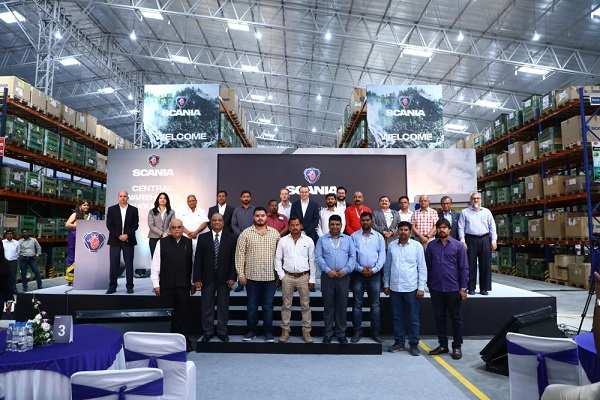 Scania: Scania launches Central Parts' Warehouse at Nagpur