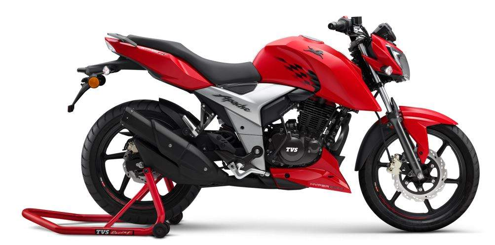 TVS Apache: TVS Motor launches the TVS Apache RTR 160 4V in