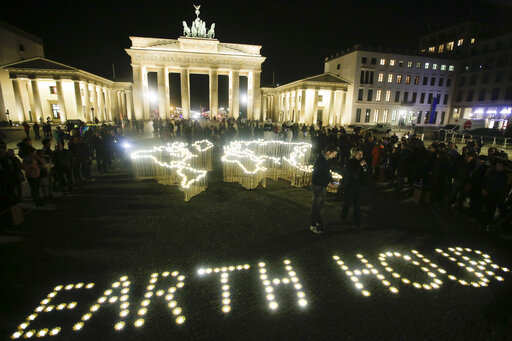 Earth Hour: Cities around the world go dark for Earth Hour