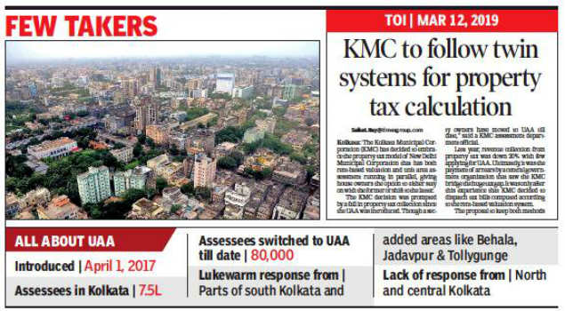 Kolkata civic body starts 'forced' switch to UAA after poor response from property owners