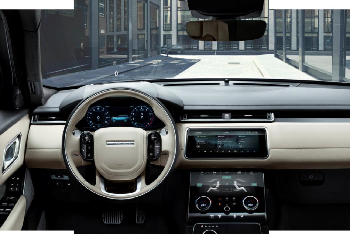 Range Rover Velar Inside View