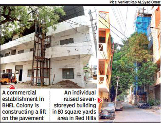 Hyderabad civic body turns a blind eye towards illegal construction, residents fume