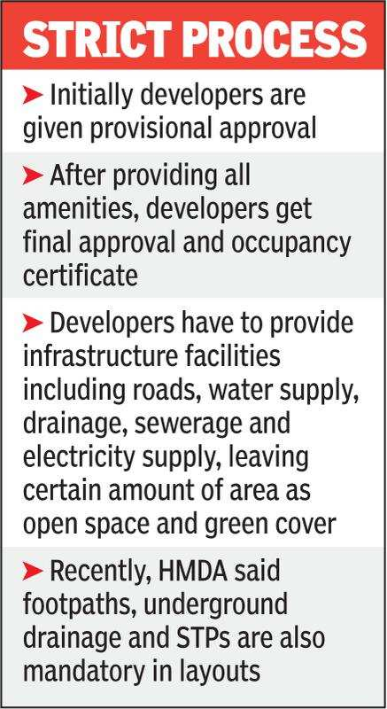 Hyderabad: No plot registration till layout approved?