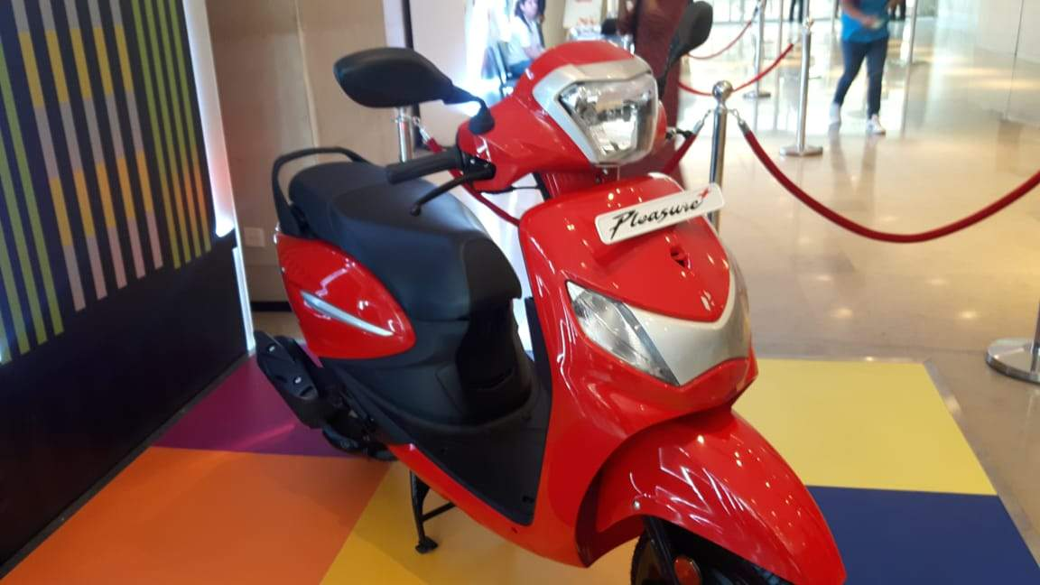 Hero Motocorp launches Maestro Edge 125 and Pleasure+110 scooters
