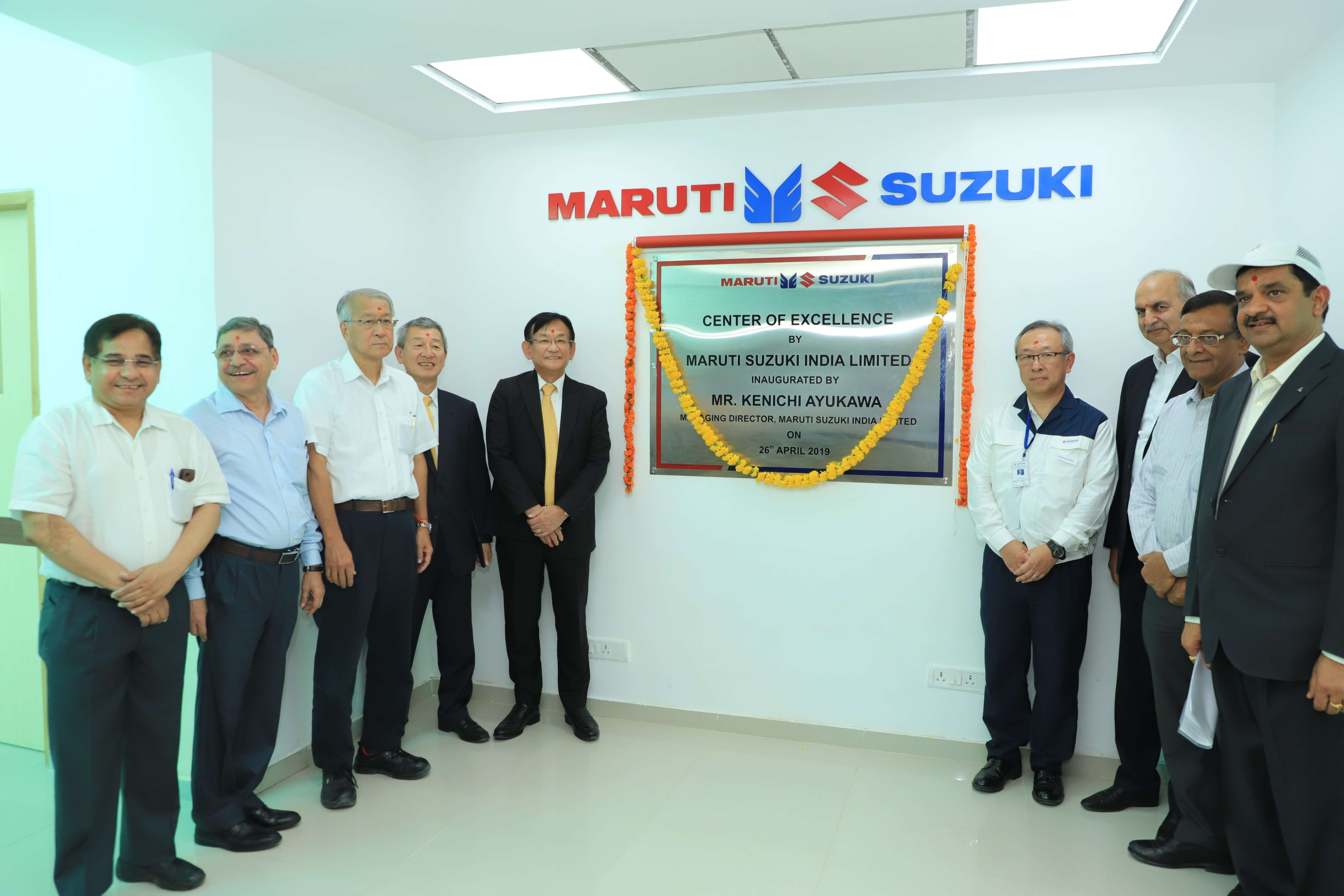 Maruti Suzuki Vendors Maruti Suzuki Opens Center Of Excellence At Iti Becharaji In Gujarat Auto News Et Auto