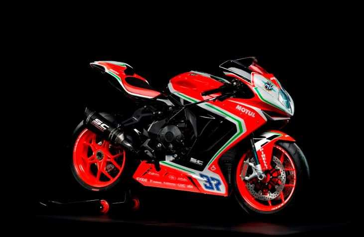 Only six units of the bike MV Agusta F3 RC will be available in the country.