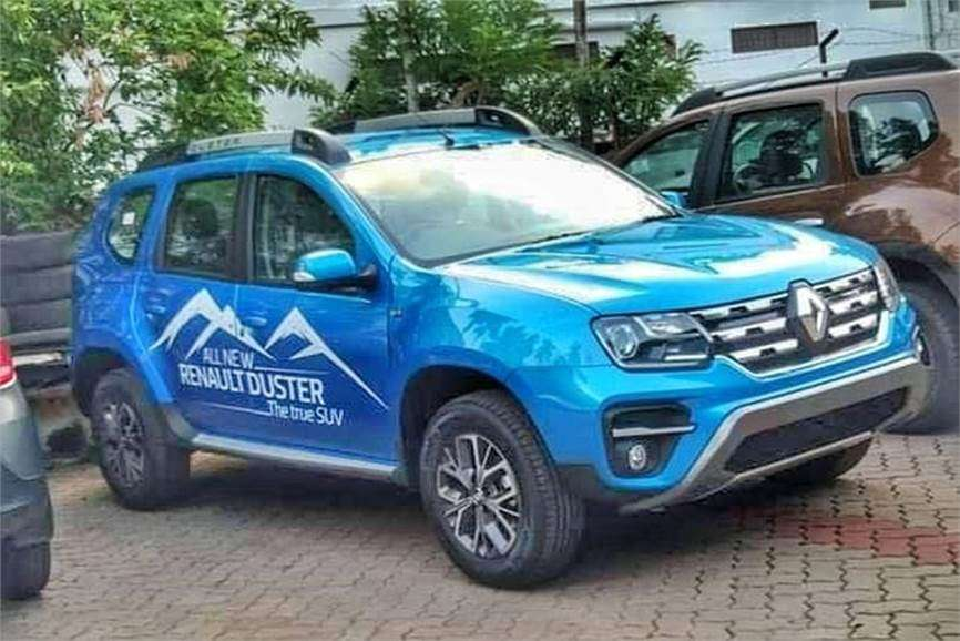 Renault Duster Facelift Renault Duster Facelift Launching In India