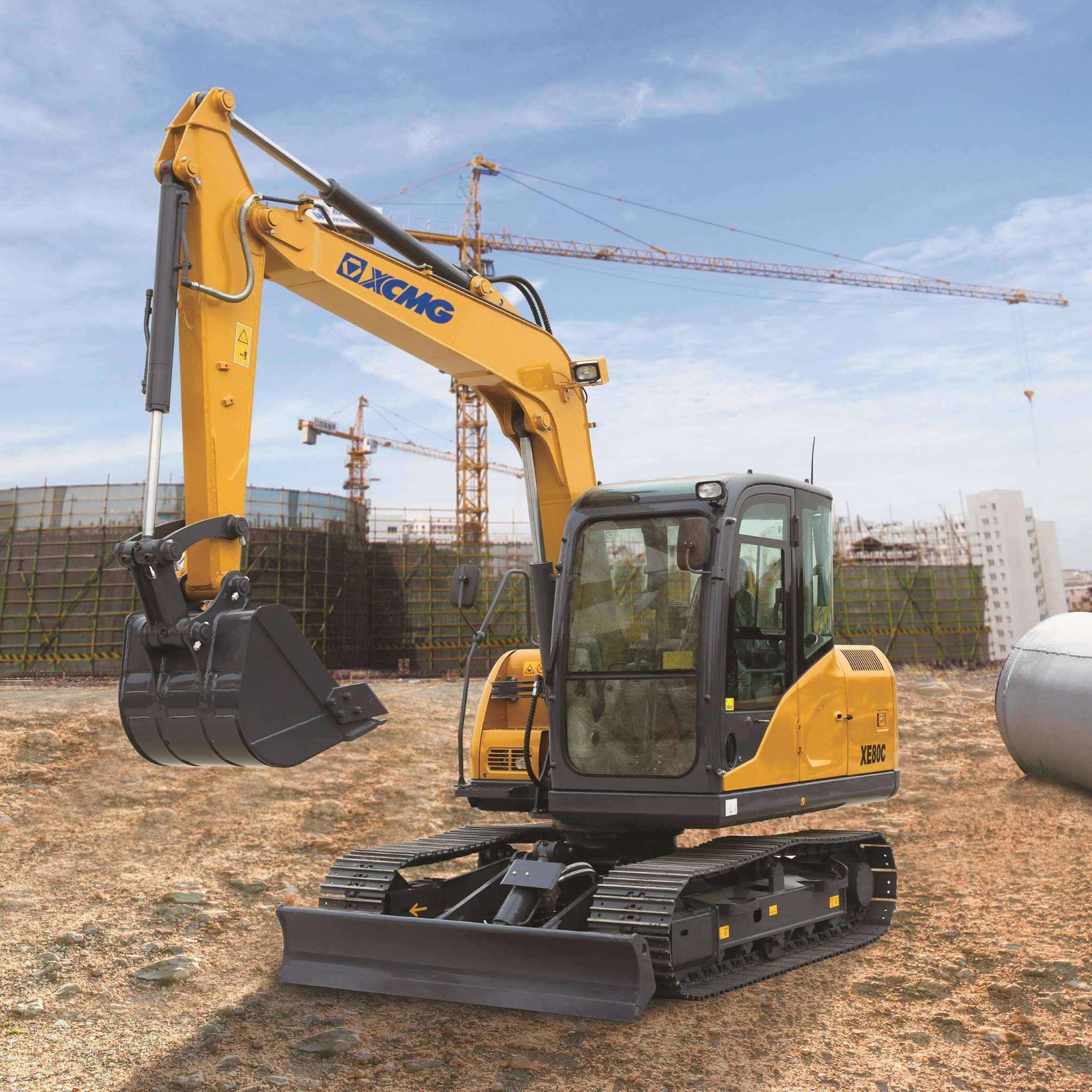 SSI XCMG Excavator range: Schwing Stetter India forays into
