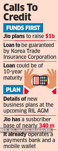 Jio to raise $1 billion via offshore loans to buy telecom gear