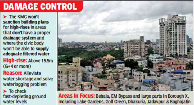 Kolkata civic body will not sanction high-rises in areas without infrastructure