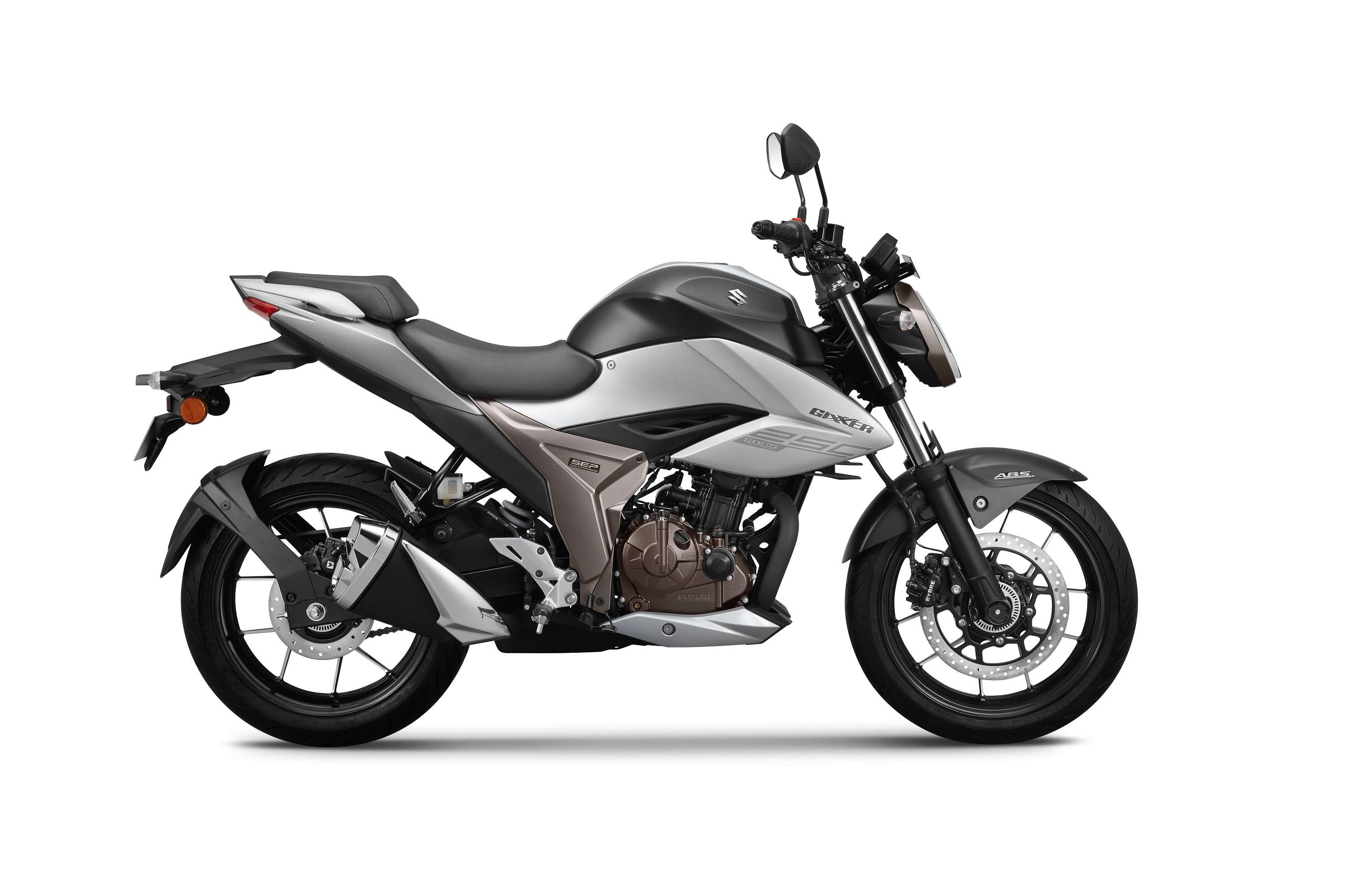 It comes with 249cc, Suzuki Oil Cooling System (SOCS) four-stroke, single-cylinder fuel injection SOHC engine offering refined performance.