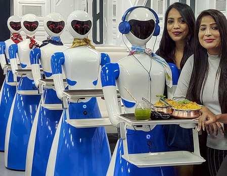 Robot restaurant in Bangalore: 'Robot Restaurant' comes to Bengaluru,  Retail News, ET Retail
