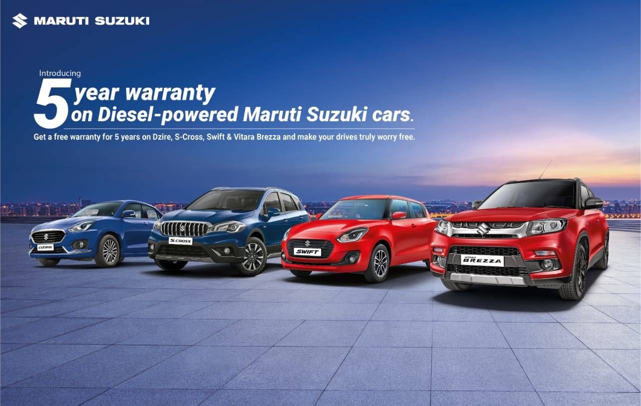 Maruti Suzuki Maruti Suzuki To Offer Free 5 Year Warranty For Select Models Auto News Et Auto