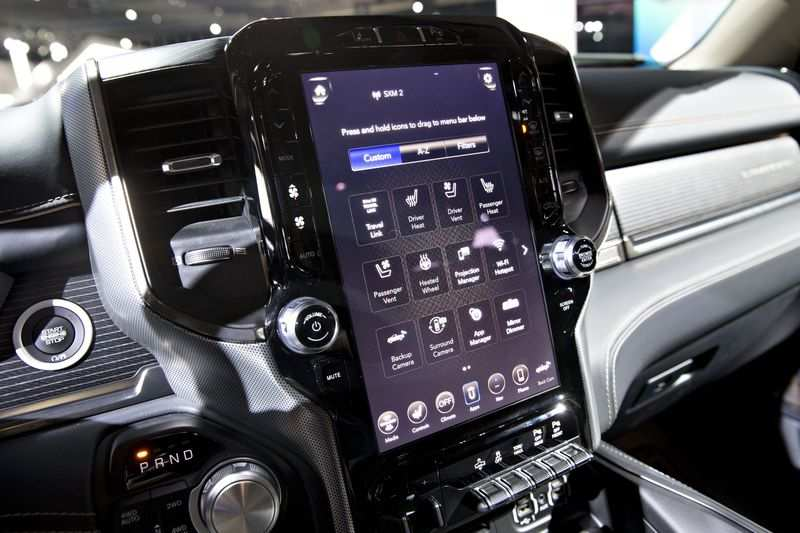 touch screen: Ford to expand F-150 touch screen by 50% to