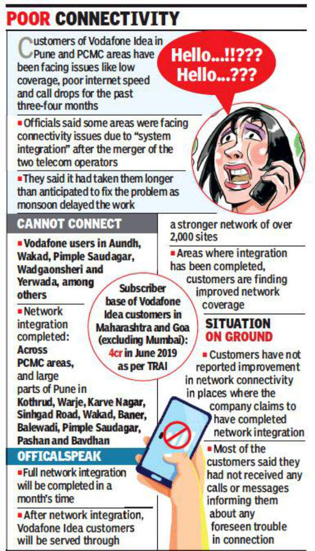 Network Issues Bother Vodafone Idea Users | Communications ...