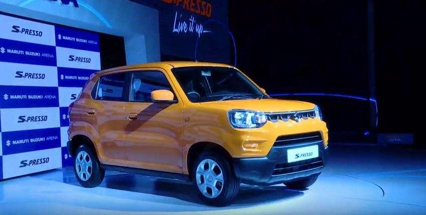 Suzuki Mini Suv >> Maruti Suzuki S Presso Maruti Suzuki Launches S Presso